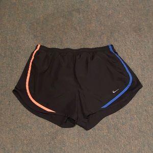 Black Nike Running Shorts w/ Rainbow Accents